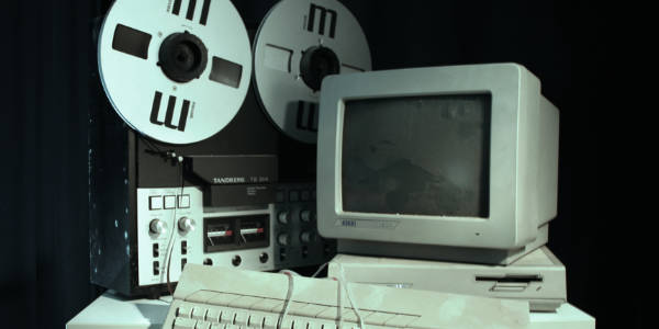 Atari Computer. Creative Music School.
