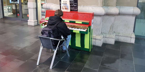 Musiker. Creative Music School.