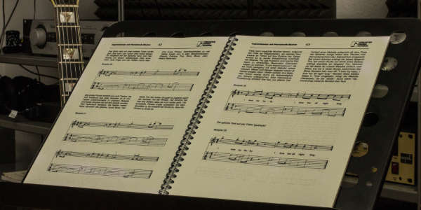 Noten. Creative Music School.