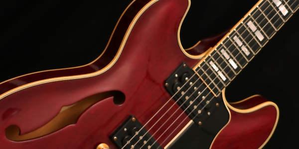 Semiakustikgitarre. Creative Music School.